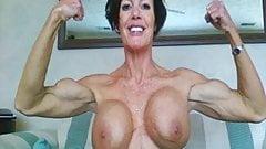 biceps and big boobs