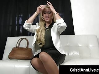 Cock cristy julie sucking - Boss cristi ann confronts employee who stole her dirty hose