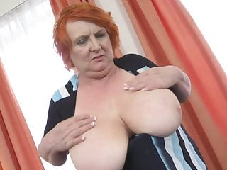 Old granny big cunt - Granny with huge tits and hairy old cunt