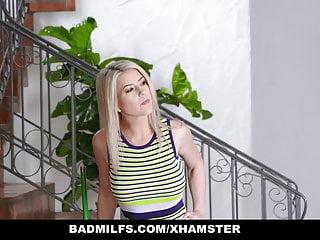 Threesome or tag - Badmilfs - sexy redhead and blonde milf tag team a bwc
