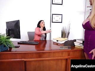 Breast cancer attorney Bbw attorney angelina castro strap-on bangs karen fisher
