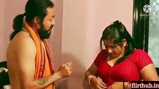 Mallu bhabi fucked by Hindu monk BaBa