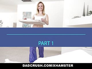 Small and skinny teens - Dadcrush - fathers day surprise from cute step daughter