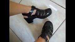Melissa Petit Jolie no pe da novinha Jelly sandal