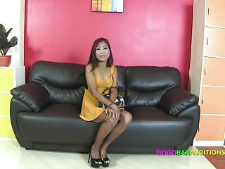 Very small girls fetish Thai girl with very very small pussy auditions for job