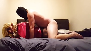 no.95 Suleika Latex in Bare Anal Fuck With Local Guy