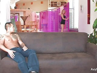 Avy scott anal Blonde avy scott teases her man before getting creampied