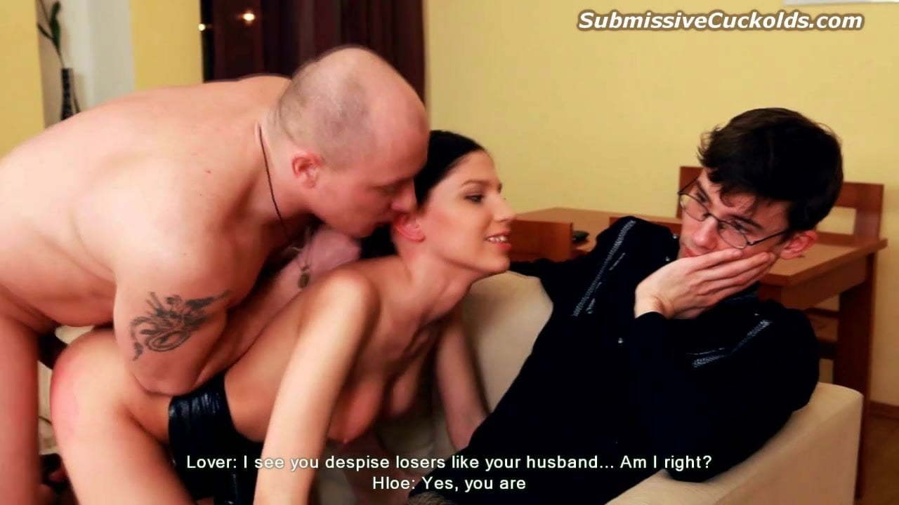 Wife Fucked Husband Watches
