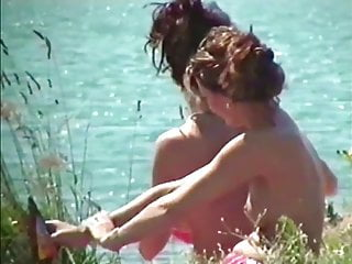 Young teen girls topless - Girls topless at the beach i