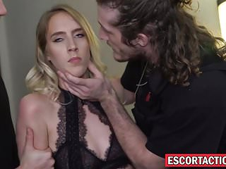 Lux escort com - Naughty escort cadence lux handcuffed and stuffed with cock