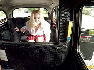 Blonde virgin fuck - Fake taxi dirty driver fucking a hot teen virgin vera jarw