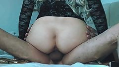 cowgirl position creampie