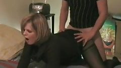 Rich MILF with her young lover