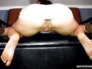 She bull hentai Hotwife view while she sucks her bull