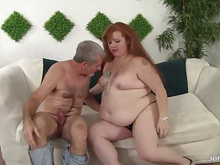 Plumpers getting pussy pounded Redheaded plumper gets her pussy pounded