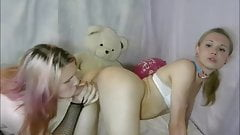 Blond shemales - amazing rimjob and blowjob