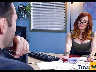 Code of conduct sexual harassment Big tit redhead conducts interview