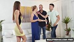 Reality Kings - Euro Sex Parties - Sharing And Caring - Tina