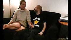 Amateur milf fuck on couch