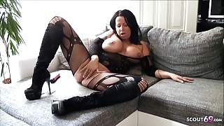 German Big Tits Mom Katie Dirty Talk Cam Session for You