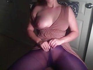Sexy nylon chicas Chica sexy