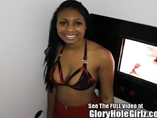 Cum eating groups Big titty ebony diamond eats strangers cum at the glory hole