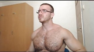 uncut hairy bator busts on his belly
