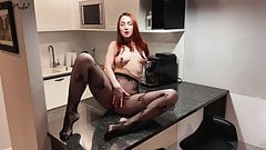 Hardcore Anal Creampie For Sexy Redhead Wife KleoModel