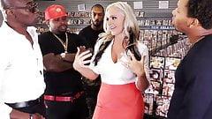 Alena Croft's First Anal Gangbang