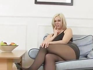 Hot wet pussy movie Anna joy fingers her hot wet pussy and gets off in stockings