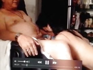 Great deepthroat Bridgette velasco gives great deepthroat to very old man