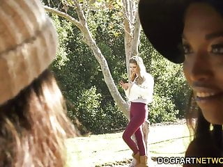 September carrino sucks on tits Lesbian sex with daya knight, september reign bunny colby