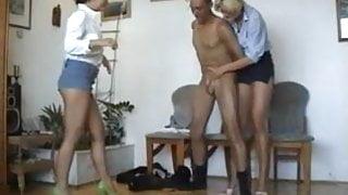 Office Gitmo Porn - Blonde Managers Ballbust Arab Janitor
