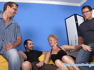 Free wives sex video Hottie wives hungry on three cocks