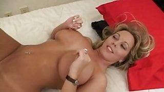 Blonde big tits milf fucks good (MC)