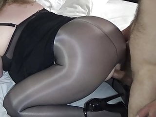 Girls covered in pantyhose Pantyhose covered ass