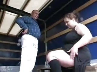 Girls that suck for money Horny fat bbw girl sucking older cock for money
