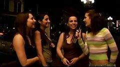 Public interview finish in a private lesbo scene