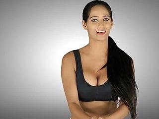 Yoga boobs - Poonam pandey hot yoga boobs and ass desi