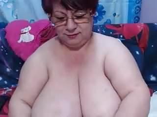 Amateur huge boob granny movies Huge boobs granny