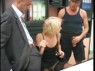 Real people tits - Three people fucking in threesome