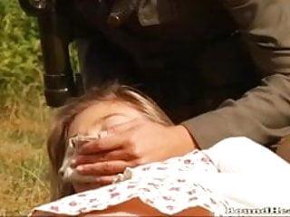 Cougar hunting lesbians - The slave huntress - beautiful young army woman hunting