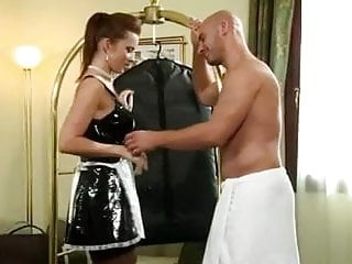 Latna maid sex - Cindy dollar black stockings maid sex