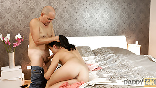 Old and young copulation makes partners happy and satisfied