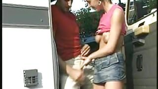 Hot milf and her younger lover 619