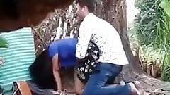 969 Myanmar Buddhist Couple Doggy Style in Public