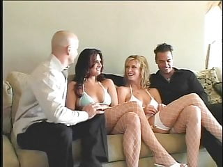 Bald asian gets fucked in her wheelchair Bald white guy gets head from a horny brunette then fucks her