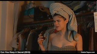 Alexandra Daddario sexy and naughty movie scenes