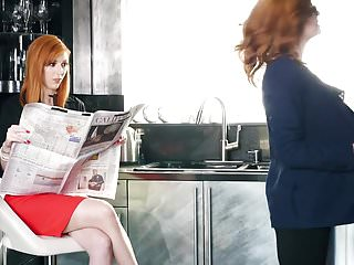 Sexy redhead lesbians asses - Redhead lesbians -jessica rex- -lauren phillips- get it on