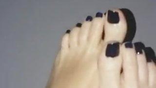 My feet...